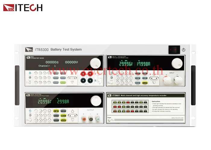ITS5300 : ระบบทดสอบการชาร์จและดิสชาร์จแบตเตอรี่ Battery Charge and